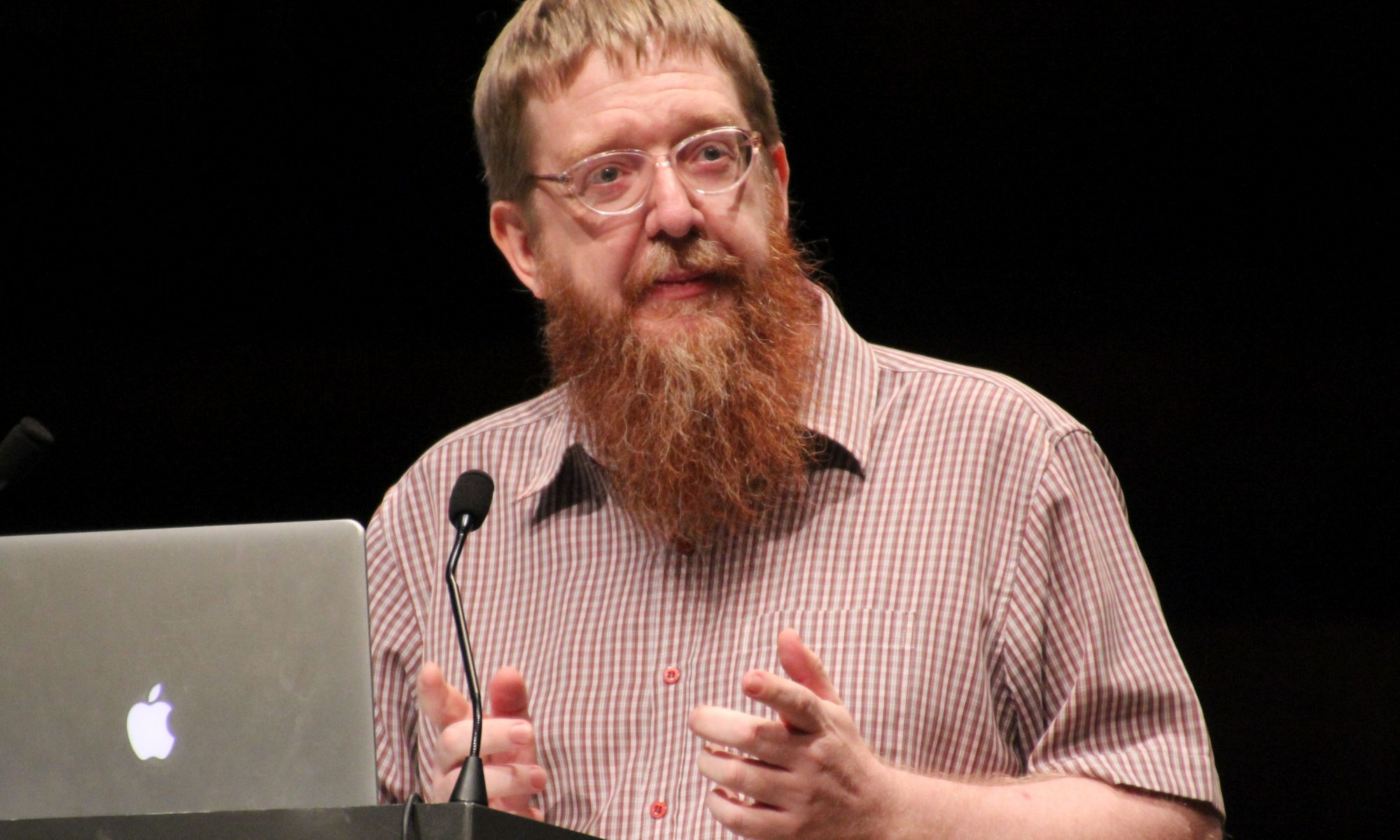 Andy Mabbett at Wikimania 2014 in London. Photo: Lionel Allorge. License: CC-BY-SA-3.0